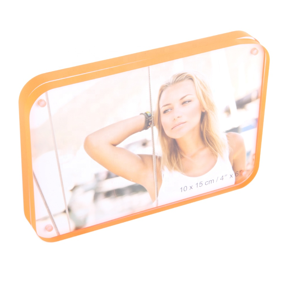 Wholesale 4x6 Double Sided Transparent Clear Acrylic