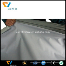 EN471 luz alta prata cinza 4 way tecido de alongamento reflexivo