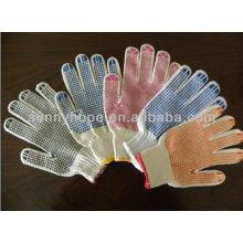 Farbe PVC dot stricken Arbeit Handschuhe