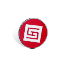 Badge d'impression offset, Pin organigramme époxyde (GZHY-OP-004)