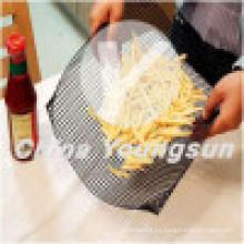 PTFE Panadería Fibra de vidrio Quickachips / Chip Basket