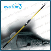 Gute Leistung Mixed Carbon Tele Surf Rod Angelrute