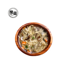Freeze dried food mushroom vegetable egg soup