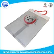 PO пластиковая хозяйственная сумка с ручкой ручка пользовательские сумки Logo