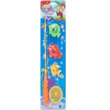 Plástico de educação magnética sucção verão água brinquedo de pesca