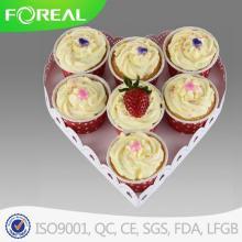 Calor forma 7PCS Metal Cupcake Stand