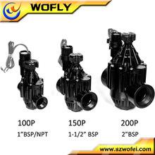 Válvulas solenóides 12V para irrigação