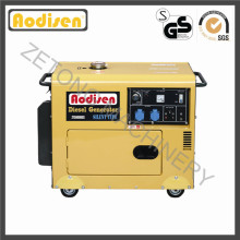 Générateur diesel de moteur de puissance de 5kVA / kilowatt (ensemble) à vendre