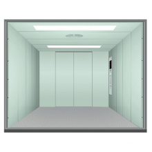 2000kg Paint Steel Cargo Elevator with Competitive Price