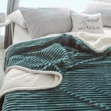 супер мягкое шерстяное одеяло из шерсти 60 * 80 дюймов