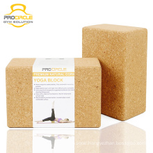 Custom Natural Cork Yoga Block For Exercise
