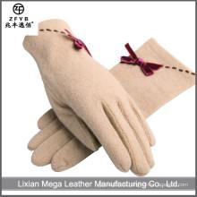 China Großhandel benutzerdefinierte Wolle Handschuhe