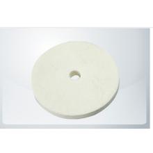 Manufacturers Custom-Made Microfiber Polishing Pad White Pads Buffing Wheel Square teeth