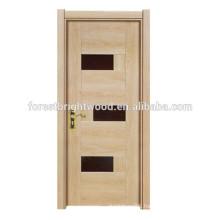 Popular Simple Style Cheap Melamine Interior Wooden Door