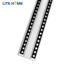 angle de montage de panneau lumineux de grille de plafond réglable