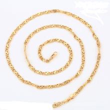 43043- Collar de cadena de la venta caliente de la joyería de Xuping con el oro 18K plateado