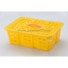 alta qualidade molde de injeção de cesta de fruta de plástico produtos domésticos para laranja usado