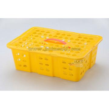alta qualidade frutas cesta injeção molde fornecedor molde de aço plástico preço de fábrica