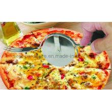 Cortador da roda da pizza do aço inoxidável, forquilha da pizza (se1103)