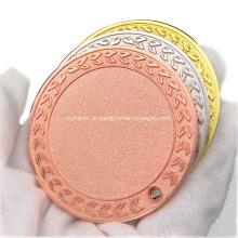 Großhandel Zinklegierung Gravur Sport Blank Medaille