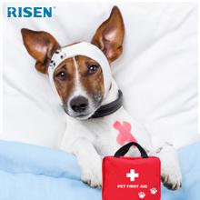 Wholesale Pet Dog First Aid Kit walk