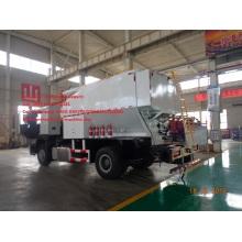 Camión explosivo ANFO granular mixto Sinotruk 6T Site