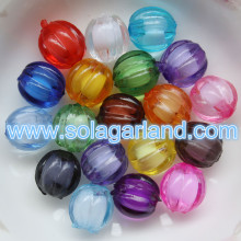 Wholesale Acrylic Crystal Faceted Beads Bead In Bead Style Gumball Charms