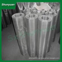 China Shunyuan empresa 304 pantalla de mosca de acero inoxidable para ventanas y puertas