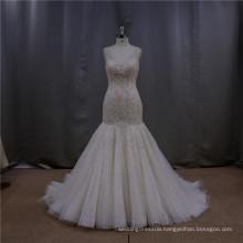 Delicate fishtail gown iridescent oriental guangzhou wedding dress