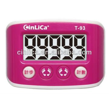 Podomètre à capteur 3d / podomètre Omron / podomètre à calories T-93