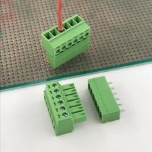 3.5mm pitch PCB 6 way terminal block