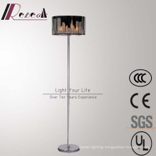 Modern Hotel Decorative Stainless Steel Standing Floor Lamp