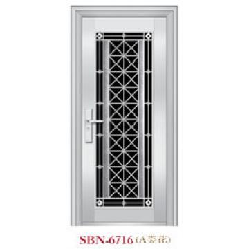 Stainless Steel Door for Outside Sunshine (SBN-6716)