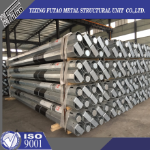 Galvanized Transmission Terminal 9.75m Pole
