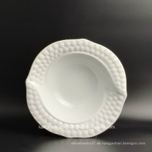 Kleine Größe Hotel Verwendung Salad Plate Ceramic Plate