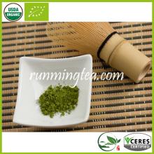 Polka certifiée biologique en poudre de thé vert