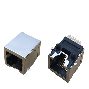 RJ45 SIDE ENTRY PCB 잭 SMT W / SHIELD