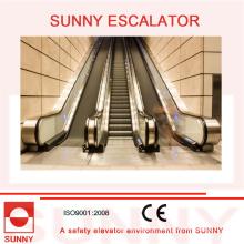 Escada rolante comercial com elevação vertical até 10m (3 pavimento), Sn-Es-C055