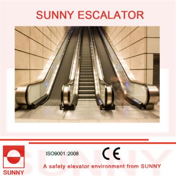 Escalera mecánica comercial con elevación vertical de hasta 10 m (3 pisos), Sn-Es-C055