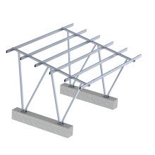 Renewable Energy Solar Carport Mounting Structure Solar Panel System