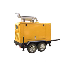 100kw trailer type Cummins Diesel Generator Set