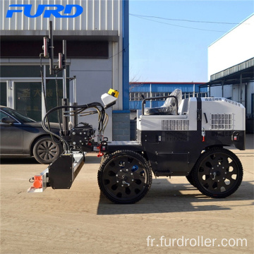 Self-Propelled Six Wheels Drive Laser Screeds Fjzp-200