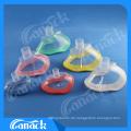 1 medizinische Einweg-PVC-Anästhesie-Maske mit Rückschlagventil