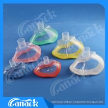 1 одноразовая медицинская маска наркотизации PVC с обратным клапаном
