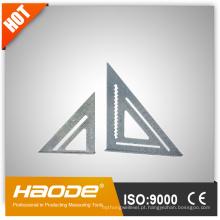 Régua triangular de liga de alumínio