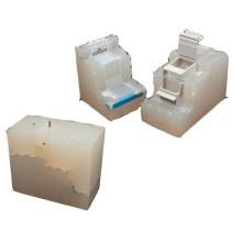 Plaster Silicone Vacuum Casting Prototype Process For Plastic Parts