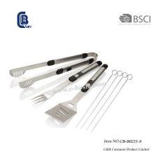 8PCS BBQ Grill Tool Set