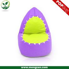 Forma animal baby bean bolsa sofá jugando bean bolsa silla