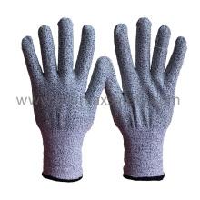 13G Hppe Fiber Knitted Anti Cut Gloves