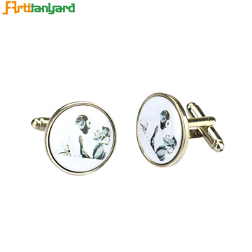 Beauty Personalized Cufflinks with Your Own Design